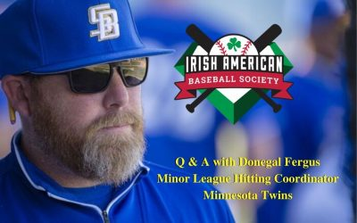 Watch Minnesota Twins Hitting Instructor Donegal Fergus Discusses Baseball and Ireland