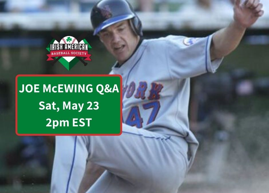 ICYMI: Joe McEwing Talks Baserunning, Autographs, and Coaching