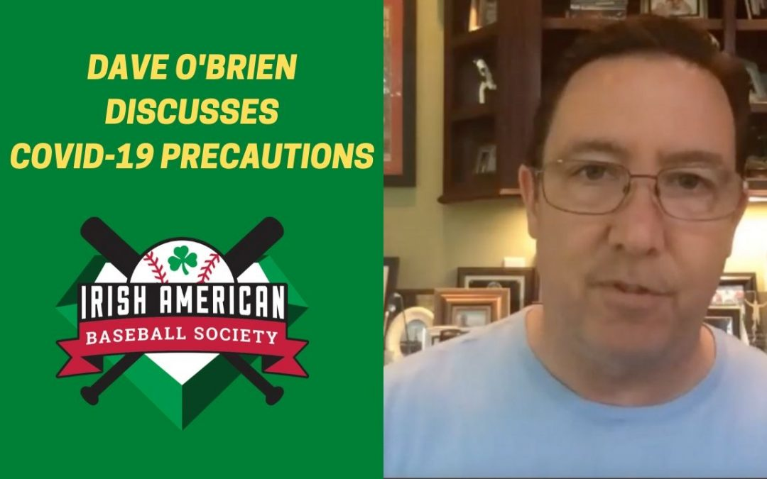 Watch: Red Sox Broadcaster Dave O'Brien Discusses MLB COVID-19 Precautions