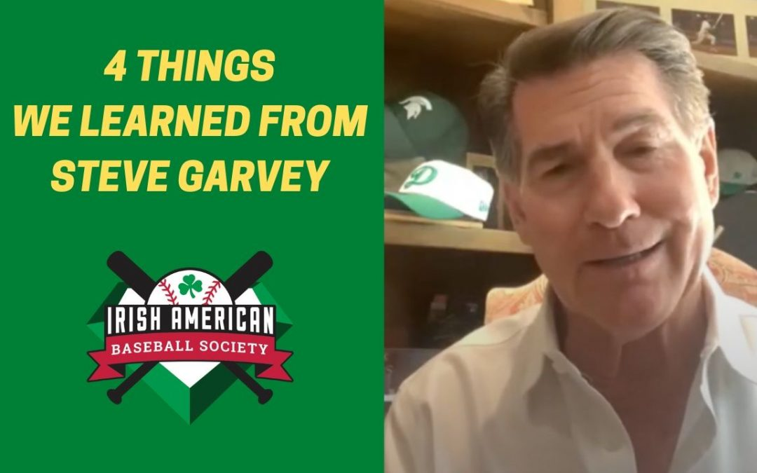 Watch: 4 Things We Learned From Steve Garvey