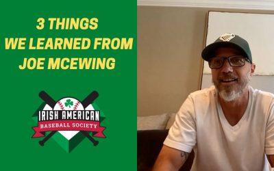 Watch: 3 Things We Learned From Joe McEwing