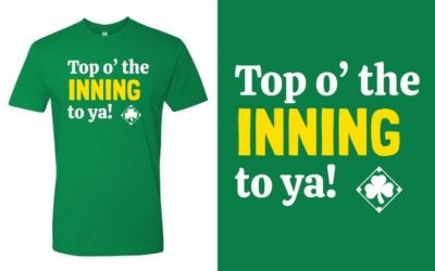 Top o' the Inning to ya! T-Shirts Available for Pre-Order!