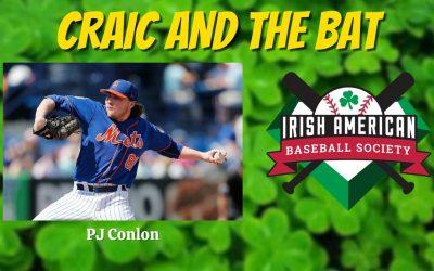 Talkin' Irish Baseball with PJ Conlon | Craic and the Bat