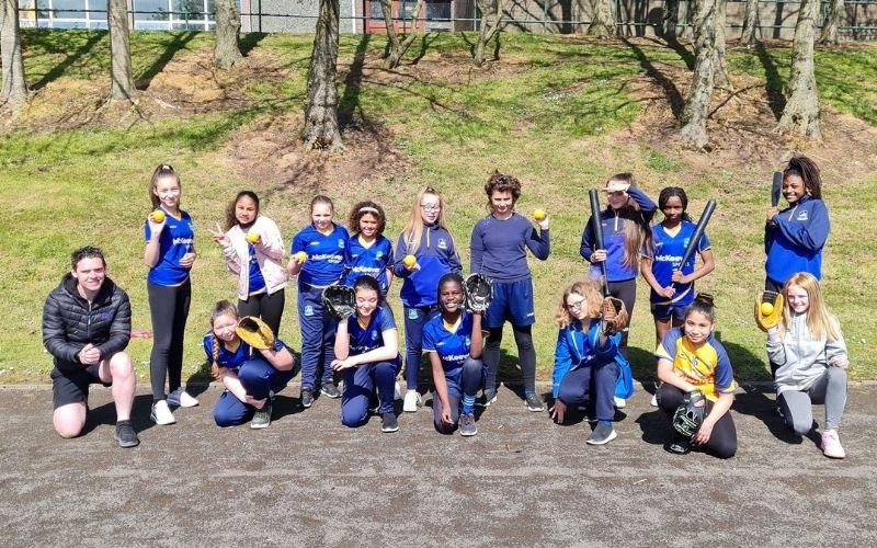 Students at St. John the Baptist School in Portadown