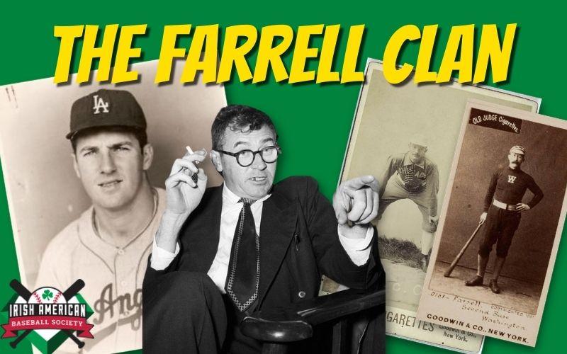 The Farrell Clan and Major League Baseball