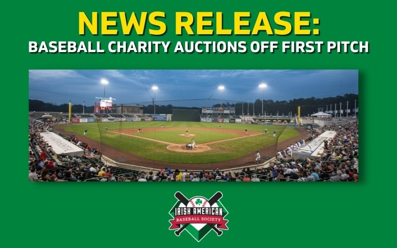 News Release: Baseball Charity Auctions Off First Pitch