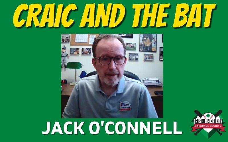 Watch: Jack O'Connell on Irish Baseball TV